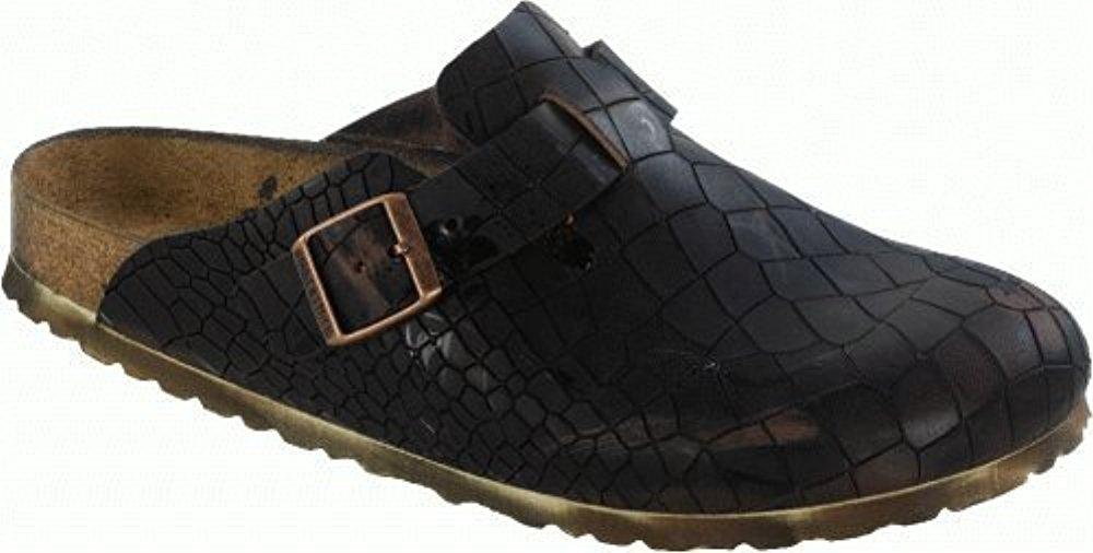 버켄스탁 Birkenstock 버켄스탁 Clogs ''Boston'' aus echt leather in Vintage Kroko Used