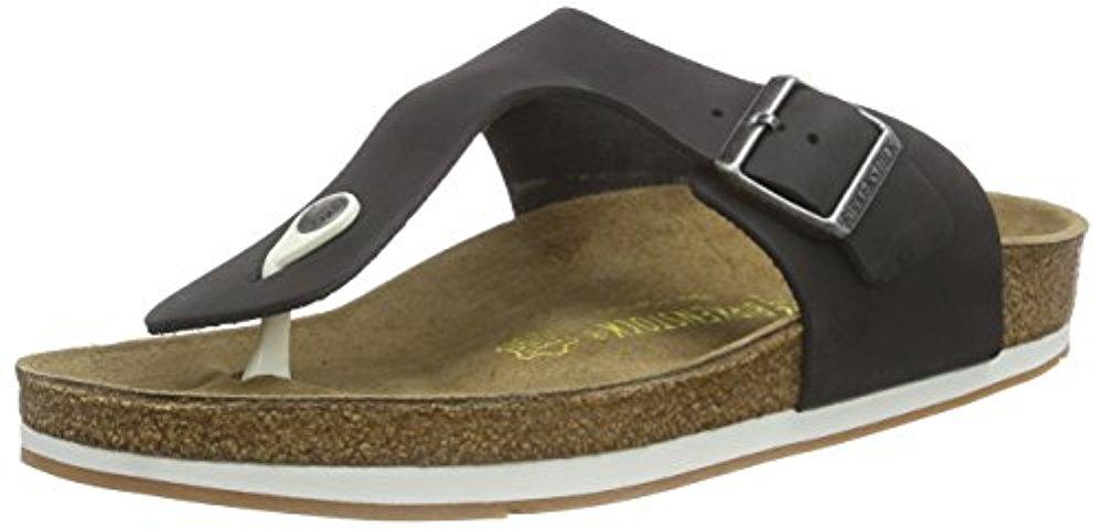 Birkenstock 버켄스탁 Ramses leather Unisex Adults Flip Flops