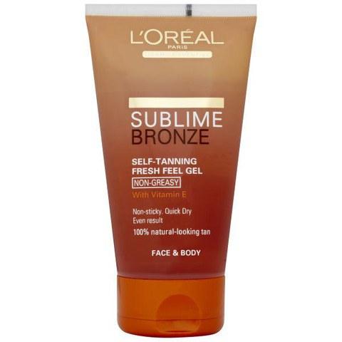 LOreal Paris Sublime Bronze Self Tanning Fresh Feel Gel (150ml)