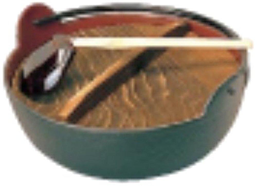 [해외] 아줌머(ZOOMER) 신 판매 5진시골냄비(철제 내면차법랑 마무리) 30 cm(주걱부착) QIN06030