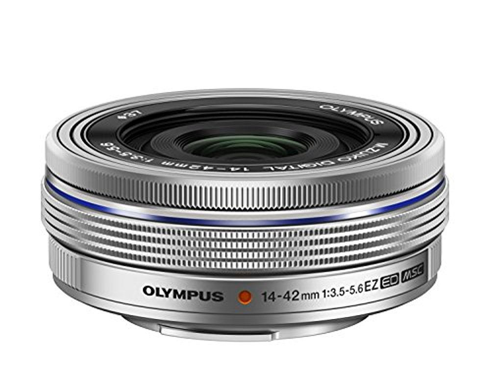 OLYMPUS 전동식 빵 케익 줌렌즈 M.ZUIKO DIGITAL ED 14-42mm F3.5-5.6 EZ SLV