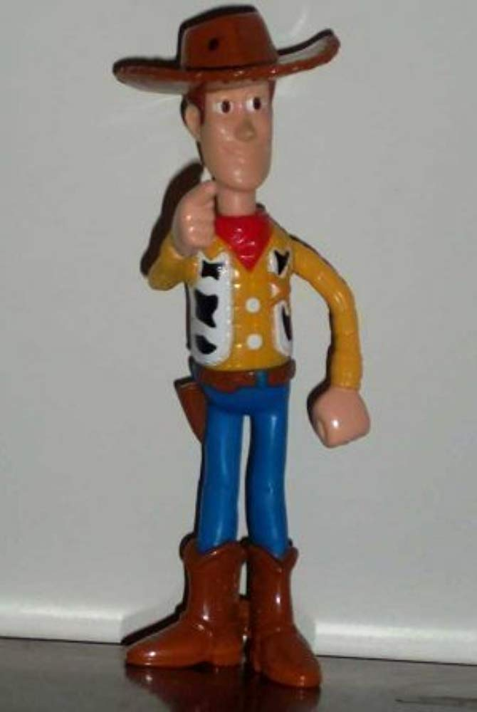 "6"" Tall Woody Toy Figure - McDonald's Happy Meal 1999 Toy Story 2 Series by McDonald's [병행수입품]"