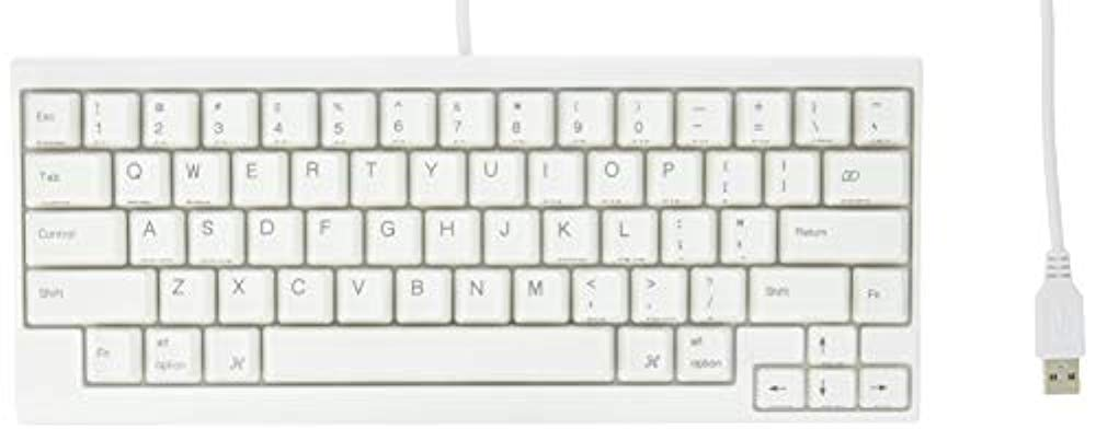 PFU Happy Hacking Keyboard Lite2 for Mac 영어 배열 USB키보드 Mac전용 모델 화이트 PD-KB200MA