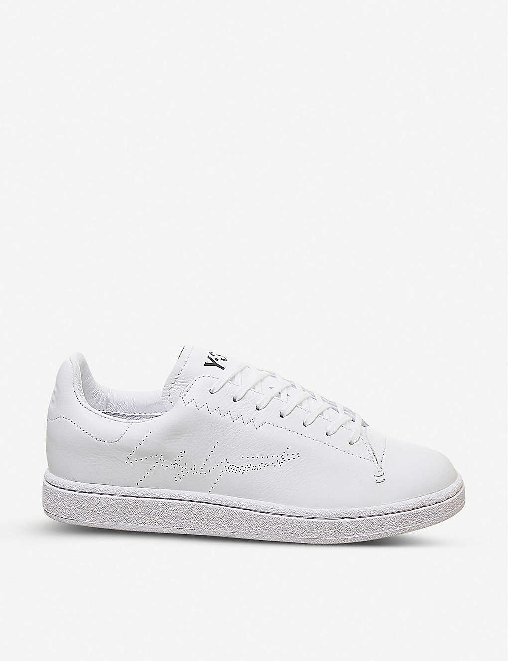 Y-3 Yohji leather court trainers(8329273)