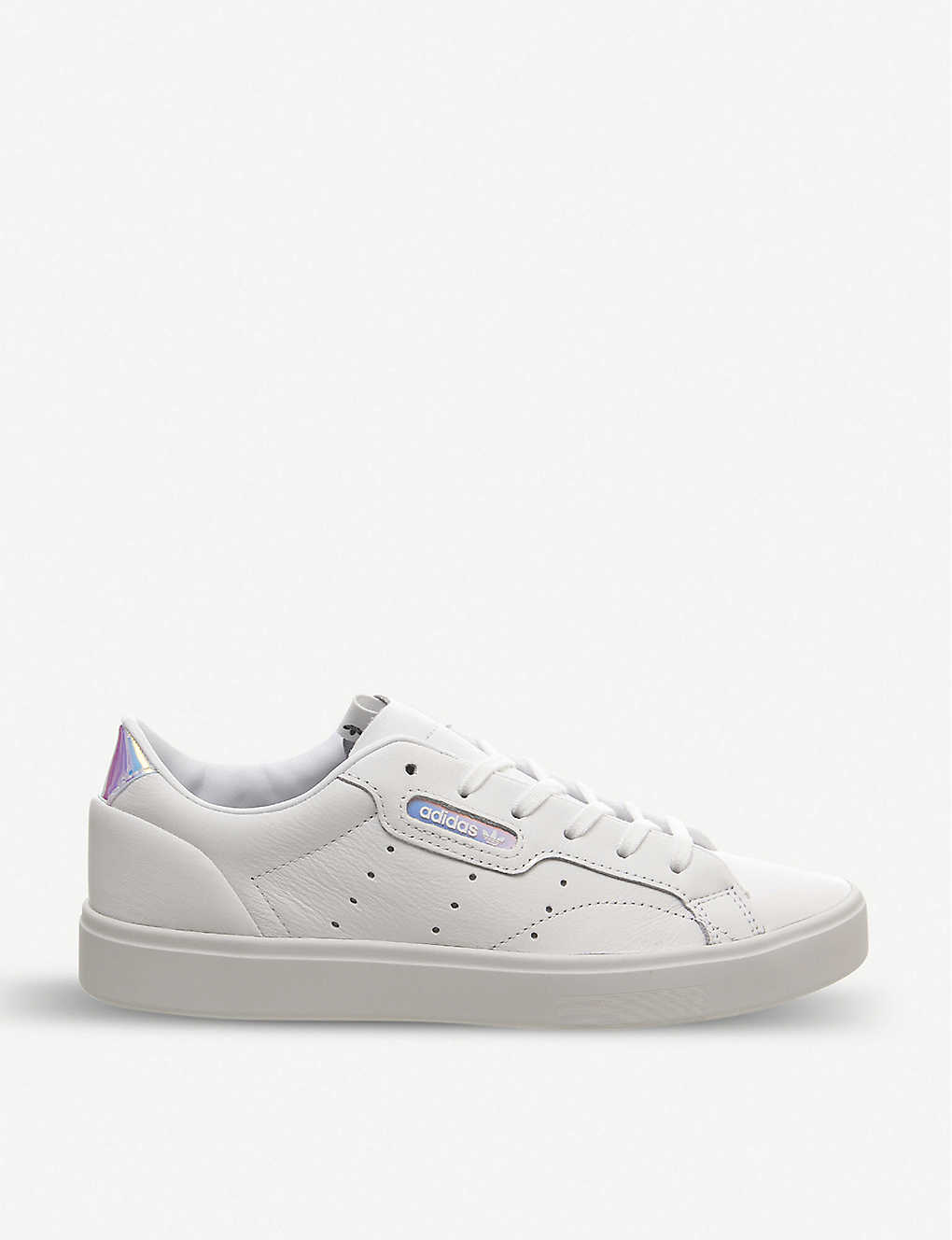 Sleek leather trainers(8249042)