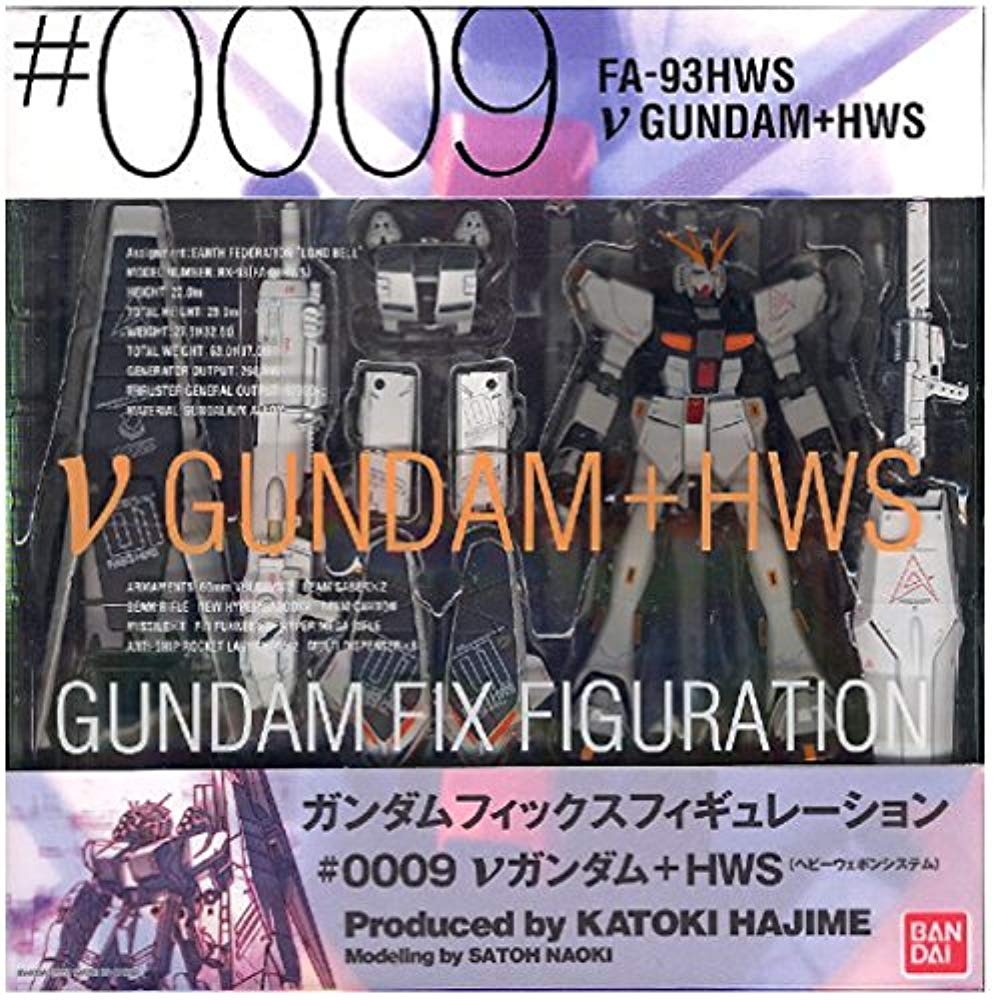 GUNDAM FIX FIGURATION # 0009 v건담 + HWS